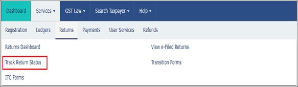 Check GST Return Status