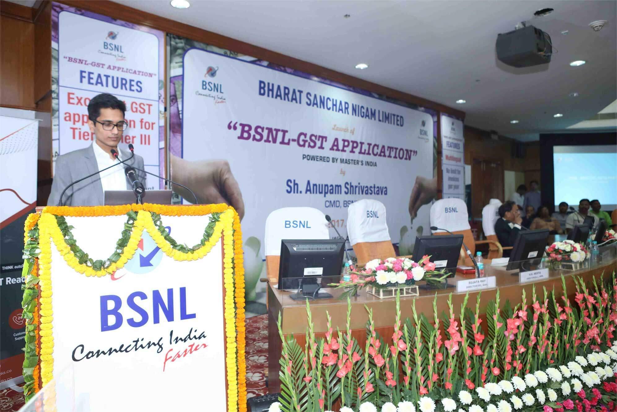 Masters India - BSNL GST
