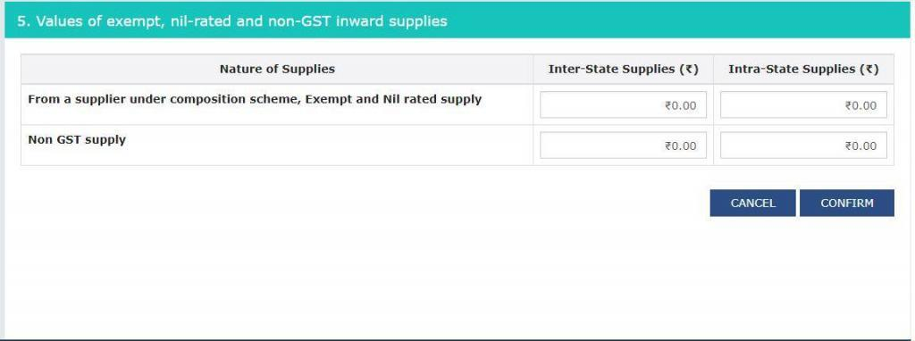 gstr-3b-prepare-inward-supplies-exempt-from-gst