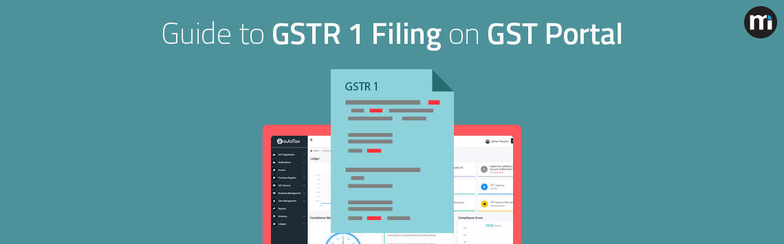 How to File GSTR 1 on GST Portal