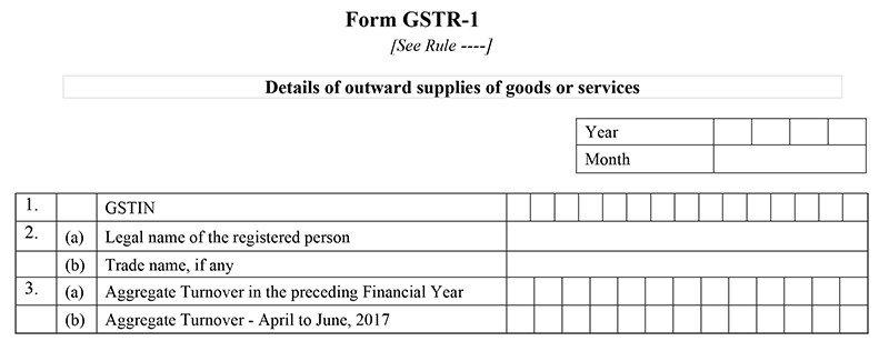 GSTR-1-Form