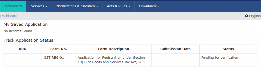 track-gst-application-status