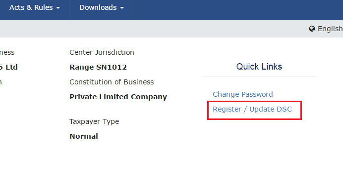 register - gst portal