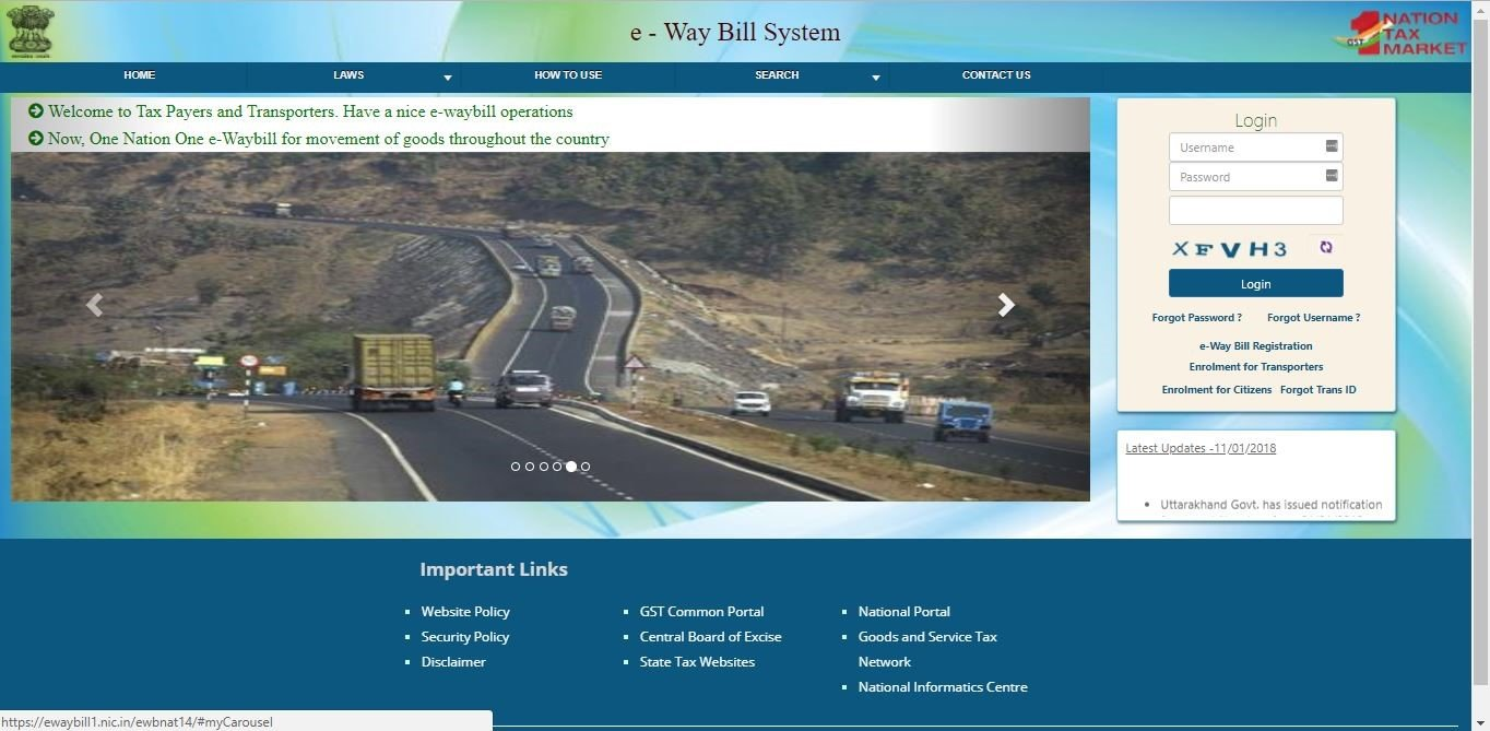 Transporter ID in E-Way Bill | Rules & Steps to Enroll