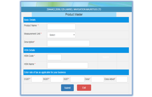 how to manage masters on e-way bill portal