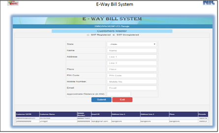how to manage masters on e-way bill portal - 3