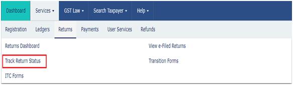 Return Filing Govt Portal