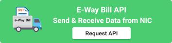 E-Way Bill API