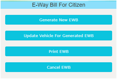 E-Way Bill for Citizens