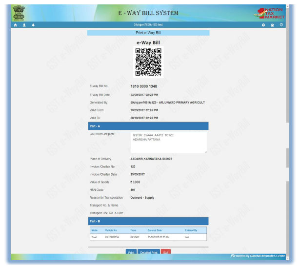 Sample EWB-01 Form
