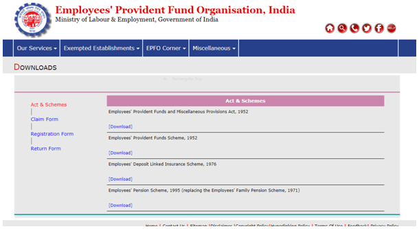 Online EPF Withdrawal Process