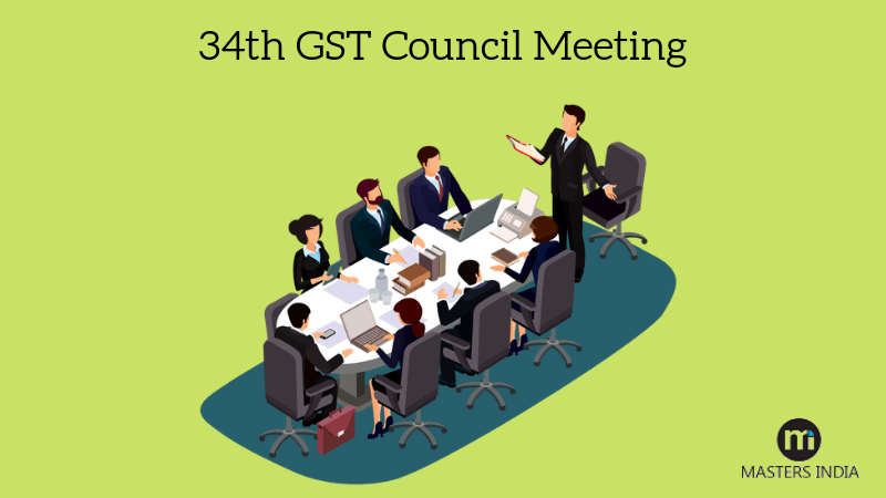 34th GST Council Meeting