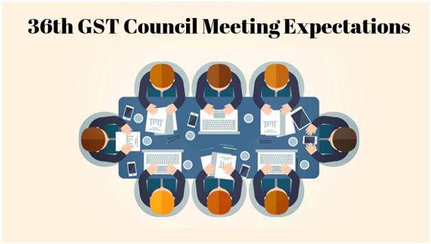 36th GST Council Meeting