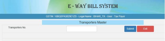 e-Way Bill Portal