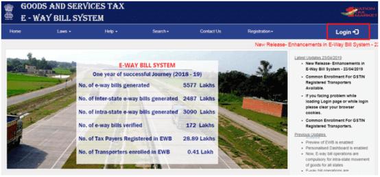 e-Way Bill User Management