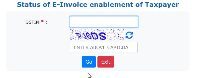 E-Invoicing Eligibility