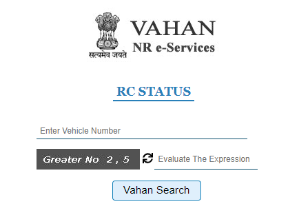 Check Vehicle Registration Status
