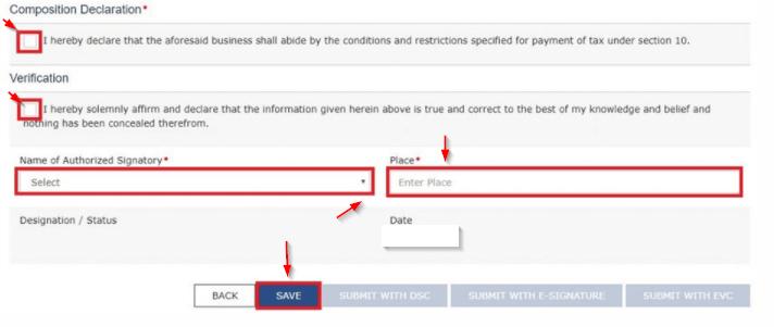 File Form GST CMP-02 Online