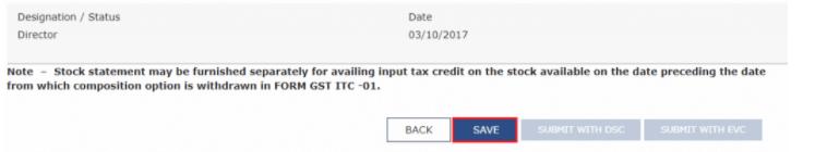 File Form GST CMP-04 Online
