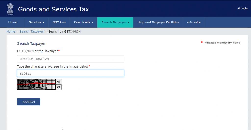 Check Fake GST Invoices